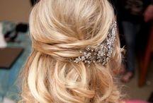 Wedding hair make up Marit