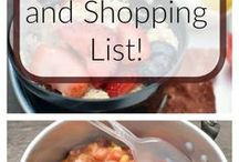 Camping Food Ideas / Top notch recipes to cook when you are on a camping trip, ideal to prepare over a camping fire or on camp stove