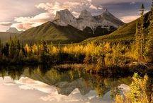 Alberta - Reiseziele / Finde die schönsten und faszinierendsten Reiseziele in Alberta! http://workandtravelkanada.com