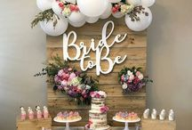 Bridal Shower Inspiration / Bridal shower ideas for the bride-to-be. Bridal shower games, decorations, food, favors and more. Unique bridal shower theme ideas and DIY ideas.