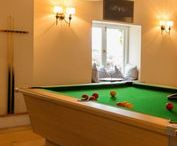 Cottages with Games Rooms / Lake District Cottages with pool tables and games rooms. Perfect for some evening entertainment!