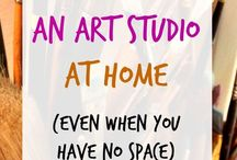 Artists & Crafters Space Ideas