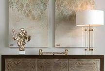 Glamour interiors / Glamour interior design inspirations.
