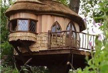 Tree houses, Tee pee's and Hideouts!