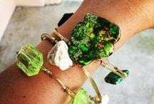 Bangles / Bangles ! Beautiful beaded and stone bracelets