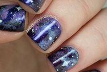 Inspiration: Galaxy Nails