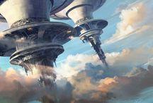 sci-fi dreaming / Flights of fancy.