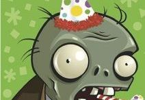 Plants vs. Zombies Theme Party!
