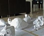 Paper Organs by Horst Kiechle / Making of Paper Organs. Removable paper organs designed and built by Horst Kiechle.