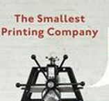 The smallest printing company / A mobile printing installation for small posters and books by The Letterproeftuin. The project consist a scale model of a Viprotech silk screen table and a scale model Roco-Ets V50, all packed in two crates full of ink, paper and tools.