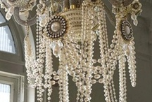 Lighting / Beautiful lighting, chandeliers and more.  Vintage flair is always a must with a touch of french country design.
