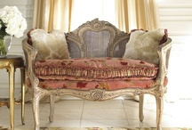 French Country Chic Design / I am in love with Shabby Chic and French Country Design.  The character that it has is second to none.  Relaxed, welcoming, comfortable...beautiful.