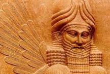 Eufrat  <<<<<>>>>> Tigris / Mesopotamia , Babylonia , Assyria , Sumeria , Akkadia