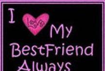 Best Friend Forever <3 / Nunca serás trocada, sempre comigo BFF
