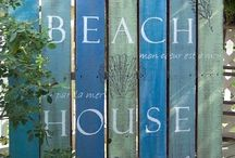Life's a Beach - House / Being by the Sea- houses - sand- sun - design - cool water - beautiful images  - colours of beach homes - on the beach - on the sea - ......... Your impressions