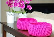 crochet/knit - home accessories & blankets