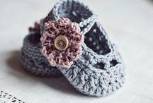 crochet/knit - shoes/socks/slippers