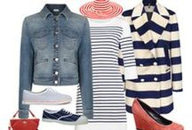 In The Navy / Stripes, navy spirit, the sea, beach ... each season it announces that holidays are coming
