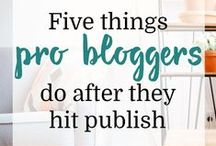 Blogging {Tips & Tricks!} / Blogging tips, tips for bloggers, blogger, wordpress, Blog tips for bloggers.