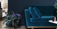 TRUE BLUE / Calming, thoughtful and evocative of the sea and sunny blue skies, get the blues in your interior design scheme - there's a shade of blue that's right for every home.