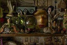 Wunderkammer / Cabinet of Curiosities, oddities