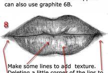 Tutorial dis.bocca / Disegnare tratti del viso