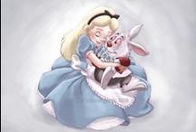 Wonderland / The wonderful world of Wonderland.  Alice and all she found in Wonderland (in all the forms I could find) / by Vivacious Hobo