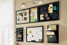 A place for everything and everything in it's place / organization ideas & cleaning tips / by Alicia Ware