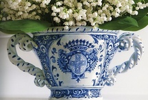 Blue and White / It just make me happy and peaceful to  look at blue and white!