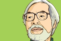 hayao miyazaki / by Kelsey Contreras