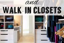 Bespoke Wardrobes & Walk in Closets / Nothing says luxury like a bespoke walk-in wardrobe or your own personal dressing room