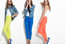 On Trend: Neons / A collection of the season's must-have pieces from vibrant neon accessories to boldly colored denim.   / by Joe's Jeans