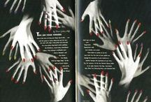 Design _ Book Pages / to see the interesting  page layout, binding, shape, folding etc / by Ema Sekimoto
