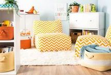 Crazy For Chevron / Home decor picks in one of our favorite patterns!