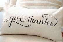 Giving Thanks / by Joss and Main