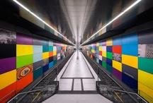 Munich Subway Stations / Photographer: Nick Frank
