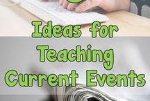 Social Studies: Current Events / Current event resources -- articles, lessons, ideas