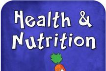 Health: Nutrition / Nutrition (health) resources -- articles, infographics, lessons, ideas / by The Learning Effect