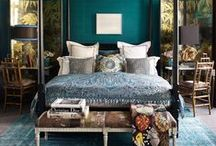 Bohemian Brights / Pillows, Rugs, furniture and more with boho & global flair.
