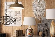 Shining Moments / Everything lighting! Shop chandeliers, lanterns, timeless ceiling fans, and artful table lamps.