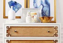 Glam Metallics / Posh and polished, shimmering metallics let your decor shine.