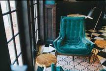 Dark & Decadent / Glamorous Home Decor in Deep Tones