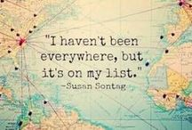 Places to see one day / Orte die man auf jeden Fall mal gesehen haben muss. Orte von denen man träumen kann. Orte an denen man sich wie zu Hause fühlt. <3