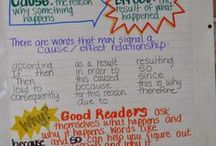 Reading: Cause & Effect / Cause & Effect resources -- articles, infographics, lessons, ideas