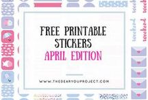 Freebies / Free printables for craft