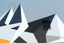 OgilvyOne design inspiration: Murals & treatments & graphics / Design inspiration for office interior walls / murals