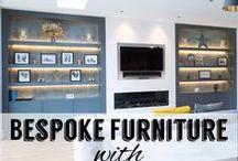 Bespoke Furniture with Beautiful Lighting / Bespoke fitted furniture complimented by beautiful lighting