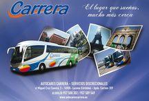 Viajes Autocares Carrera / Viajes en autobús