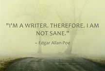 oh, for the love of words. / Writing is my passion and my calling!