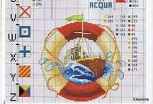 CROSS STITCH:  ALPHABETS & SAMPLERS / by KELLY CARROLL